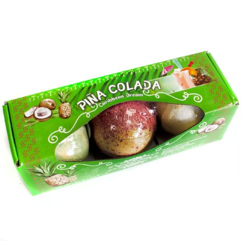 Caribbean Dream Pina Colada Cocktail Bath Bomb Gift Set